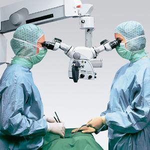 Mikrochirurgische Bandscheibenoperation an der Lendenwirbelsäule